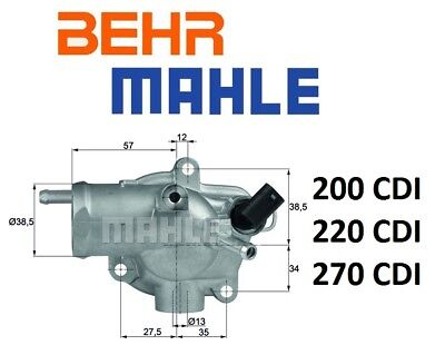 OEM Behr Engine motor Coolant Water Cooling Radiator New For Mercedes C CLK SLK