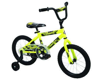 Huffy Kids Bike 16 inch Pro Thunder Yellow NEW Huffy Steel Bicycle