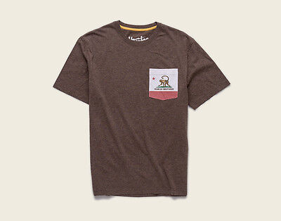 (Howler Brothers HOWLERFORNIA TShirt ~ Woodlands Heather NEW ~ Closeout Size XXL)