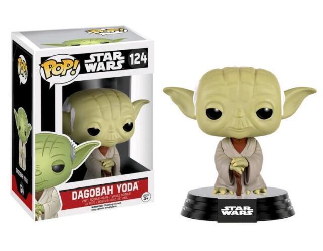 Star Wars Dagobah Yoda POP! Vinyl Figure FUNKO 124