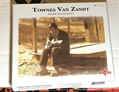 Townes Van Zandt * Texas Troubadour 4 CD Set