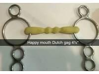 """Happy mouth dutch gag 4½"""""""