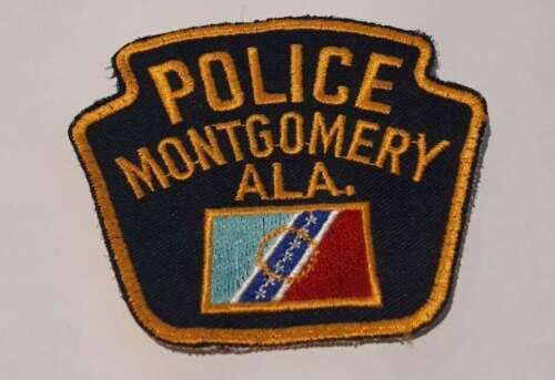 Montgomery Alabama AL US Police Patch Vintage