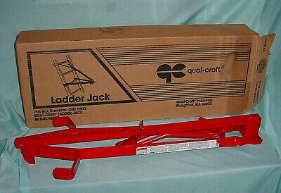 Qualcraft 2400 Steel Side Rail Ladder Jack Single Safety Platform Scaffold