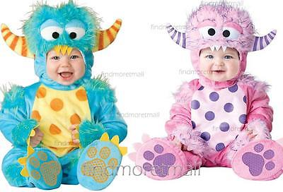 Baby The Smurfs Toddlers Around Jump Suit Fancy Dress Costume Outfit