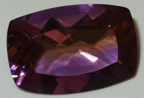 67.17ct Stunning MAJOR SIZE Natural Bolivian Blended Ametrine Cushion Cut