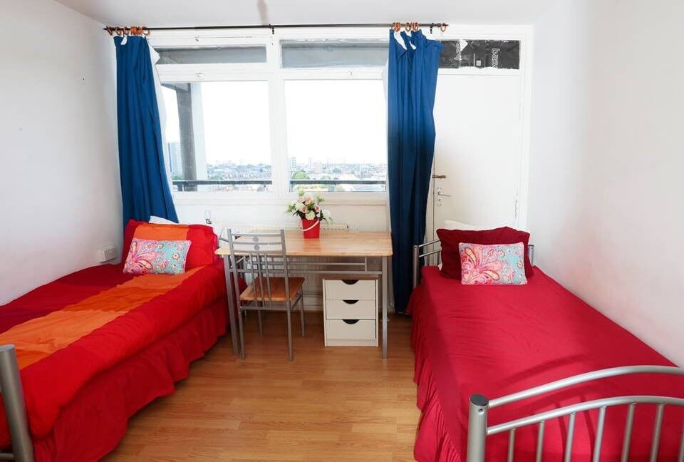 Double room for 1/2 persons near Tower Bridge 07706814372