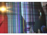 Broken smart tv