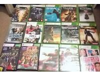 XBOX 360 GAMES For Sale £5 Each