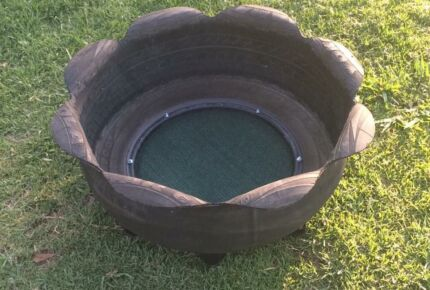 Awesome Repurposed Tyres Hillville Greater Taree Area Preview