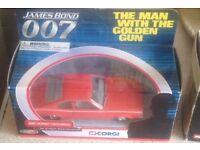James Bond boxed Corgi Collection(10 cars)