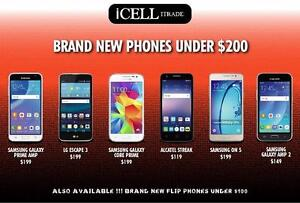 SAMSUNG CELLPHONES UNDER $200 - iCELL ITRADE.