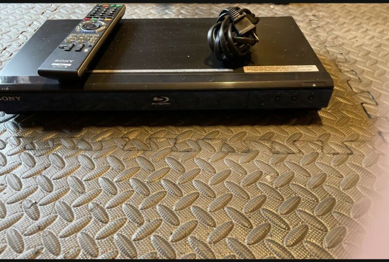 Sony Blu Ray Disc DVD Player