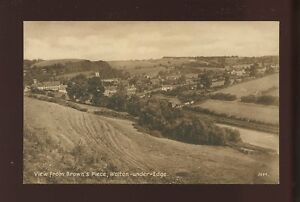 Gloucestershire Glos WOTTON-UNDER-EDGE Panoramic view PPC Cotswold Publishing