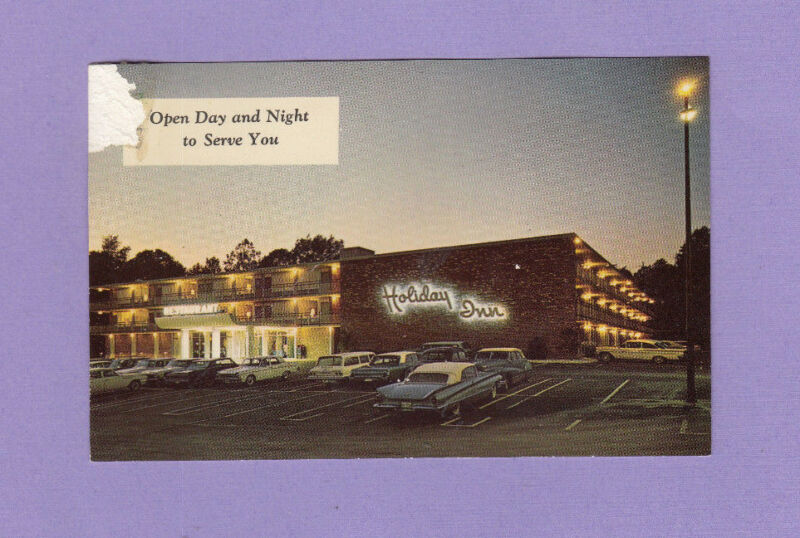 1960s Holiday Inn Motel 6100 Richmond Hwy. Don Gates Old Cars Alexandria VA PC