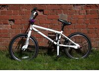 BMX bike, very good condition, with lock and puncture repair kit