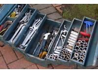 Mechanics Tools Halfords Kamasa Draper Rachets Sockets Spanners Toolbox