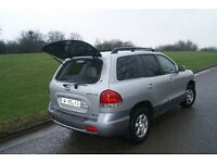 2006 Hyundai Santa Fe 2.0 CRD INTERCCULER GLS Left hand drive. Low mileage.