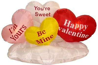 Valentine's Day Inflatable Hearts Cloud Indoor Outdoor New Yard Lawn Decoration](Valentine Inflatable)