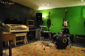 Rehearsal rooms available - Hermitage Works Studios London