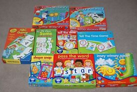 Children's Educational Games aged 3 - 9 years. Ideal for Nursery or Pre School.