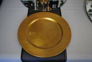 Gold And Silver Charger Plates For Hire 1 Party Hire Gumtree