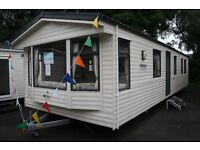 Willerby Westmorland 3 bedroom holiday home at Rosneath Castle Park 1 hour from Glasgow.