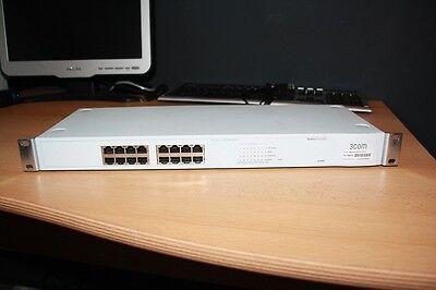 3Com Baseline Switch 10/100 3C16470  Superstack 3