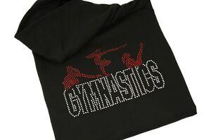 Personalised-Gymnastics-Hoodie-Rhinestone-Diamante-Full-Zip-Girls-Adults