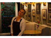 Experienced barista