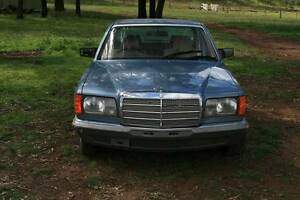 1985 Mercedes-Benz 280 Sedan Merriwa Upper Hunter Preview