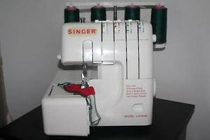 Singer overlocker with free arm, differential feed etc  14T554D Carseldine Brisbane North East Preview