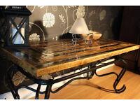 Coffee table bespoke, handmade
