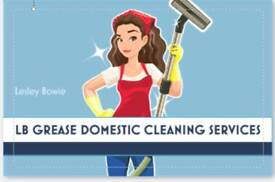 LB GREASE DOMESTIC CLEANING SERVICES