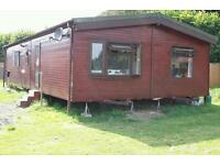 Twin Wooden clad Mobile Home 40ft x20ft