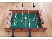 Small tabletop football table