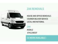 Man with van removals & courier service