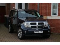 59 dodge nitro, blue, yes 17950 mile only, auto, full leather, all the extra bits, exllent in & out!