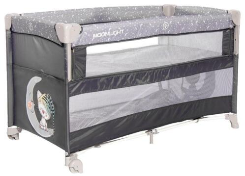 Lorelli Up And Down Grey Cute Moon Campingbed incl. Bodem...