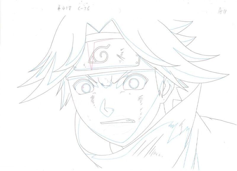 Anime Douga not Cel Naruto #273