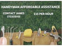 Affordable Assistance, Handyman.