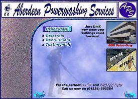 Aberdeen Power washing services