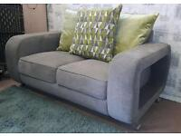 Grey fabric 3 & 2 sofas Excellent. Delivery available