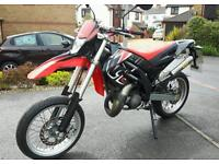 Aprilia sx 125 full power supermoto like Honda yamaha ktm dt dtr dtx cr yz rm rs