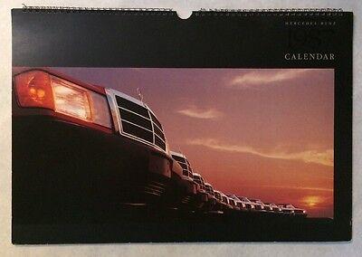 "VTG Rare 1987 Mercedes-Benz Issued 13""x19"" Wall Calendar Mercedes-Benz Cars"