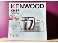 NEW - Kenwood KVC5000T Chef Sense Food Mixer