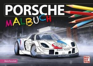 Porsche-Malbuch von Martin Gollnick (2016, Taschenbuch)