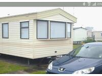 Caravan to rent on lyons Robin hood caravan park