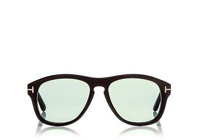 Authentic Tom Ford Tom N.7  Private Collection Black Horn Aviator Sunglasses