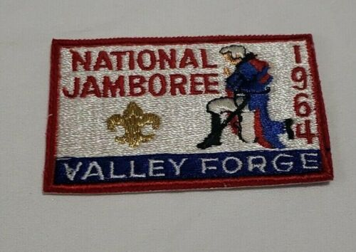 1964 National Jamboree Valley Forge Boy Scout of America BSA Patch